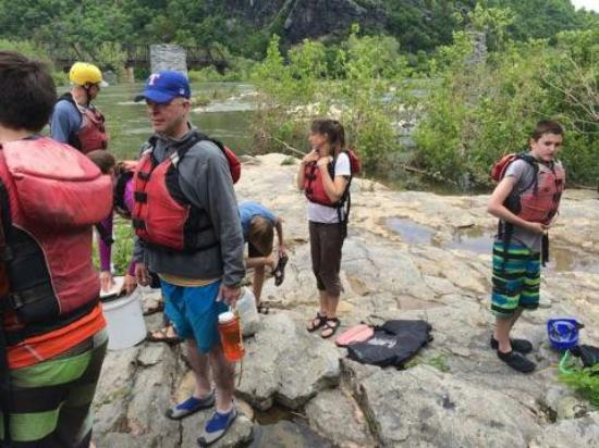 River & Trail Outfitters: Fun Rafting trip with our Boy Scout troop. Fun, friendly and knowledgeable guides!