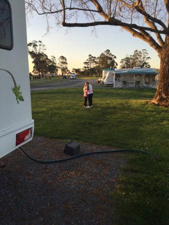 Longford Riverside Caravan Park Foto