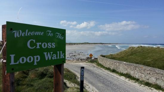 Белмуллет, Ирландия: Cross Beach Loop Walk