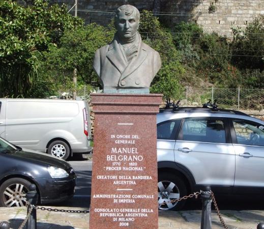 Manuel Belgrano Busto