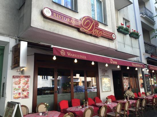 Ristorante Doro  Berlin : Buena comida, buen servicio y muy buen precio!