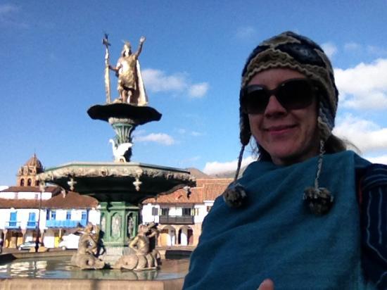 Tercentenary Square: a fonte.