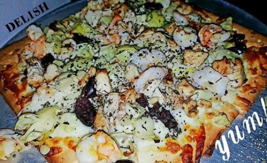 Charleston, Virgínia Ocidental: My pizza! gluten free Mediteranean