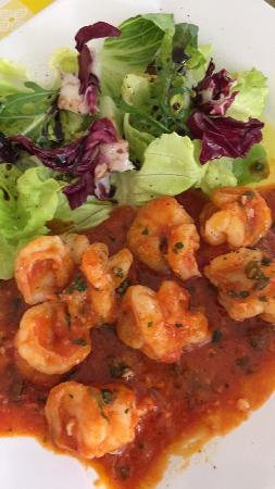 Mountain City, Теннесси: Shrimp appetizer - so good!!