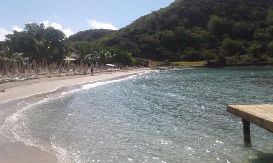 Cockleshell Beach: Reggae beach