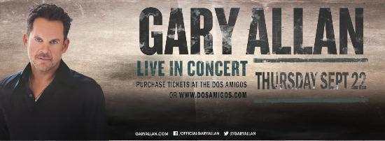 Dos Amigos: Gary Allan on September 22nd, 2016