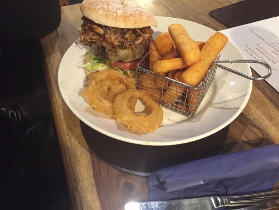 Threshfield, UK: Best burger iv had