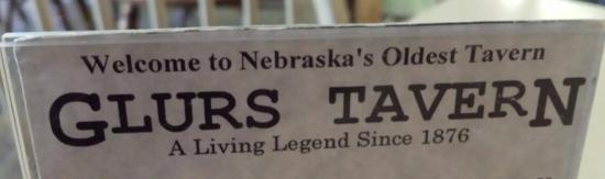 Glur's Tavern: Husker oldest