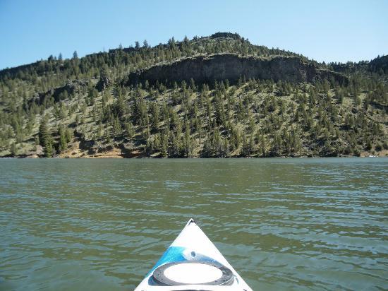 Vue sur le lac picture of ochoco reservoir prineville for Prineville reservoir fishing