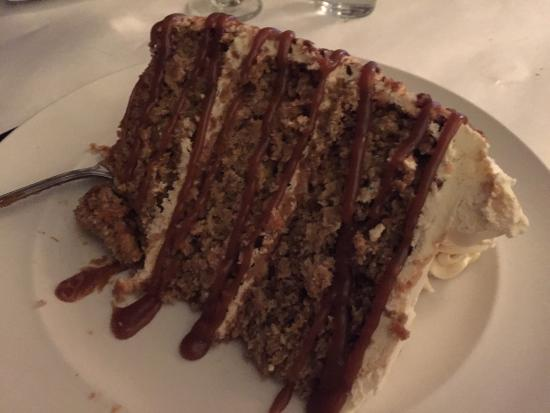 Wilmington, IL: Carrot cake- homemade, large slice
