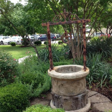 Bayless-Selby House Museum: Well in the garden