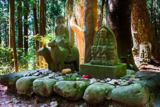 Harioshi Point Gyu-Ba Douji Statue