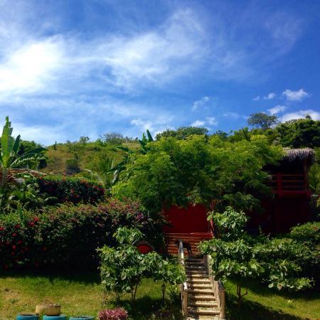 Ayampe, Ecuador: La Buena Vida Entrance