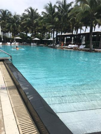 W South Beach: Great temperature for the pool
