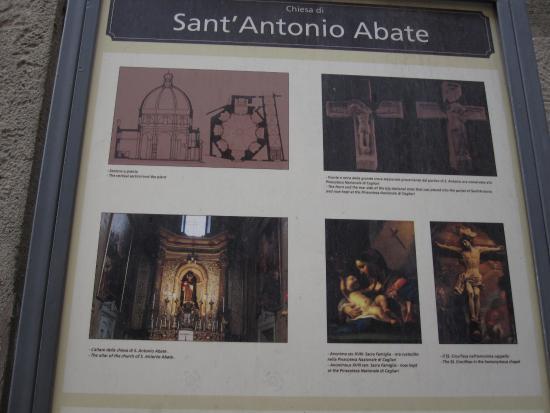 Sant'Antonio Abate Church : Explications
