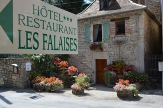 Hotel Les Falaises : ENTREE