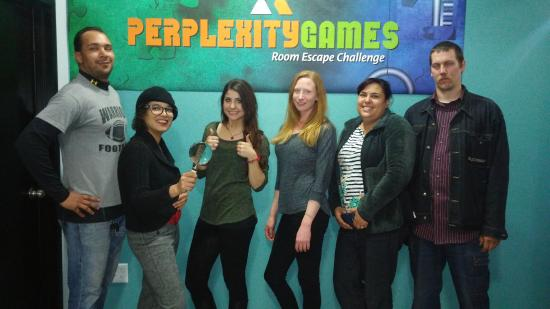 Perplexity Games Room Escape Challenge