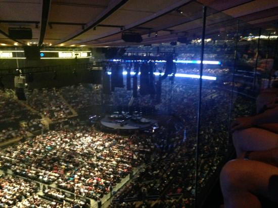 Madison Square Garden View From Chase Bridge Picture