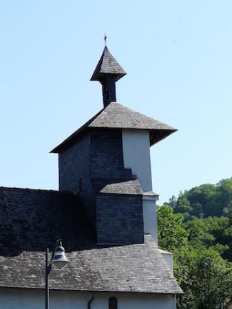 Église Saint-Gilles, Ger (Hautes-Pyrénées, Languedoc-Roussillon-Midi-Pyrénées), France.