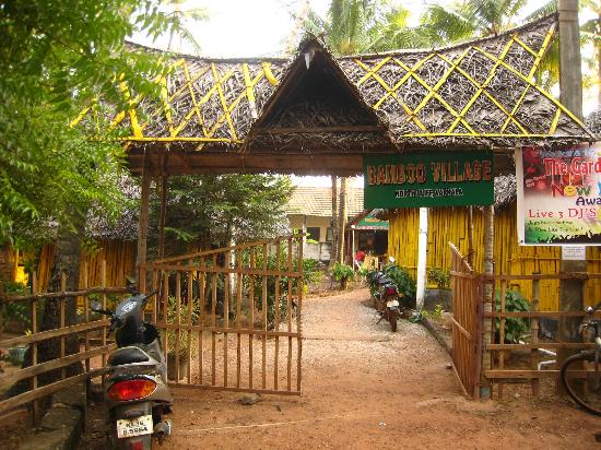 Entrance to Bamboo Village.