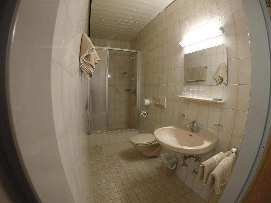 Pension Jahn: Private bathroom in Quadruple Room