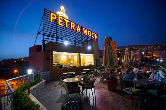 Petra Moon Hotel: Roof Top Terrace