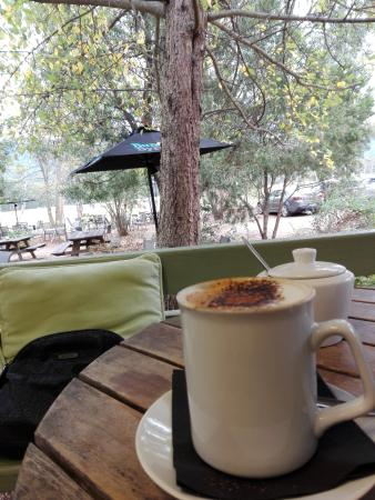 Blackheath, Australia: Coffee wirh view