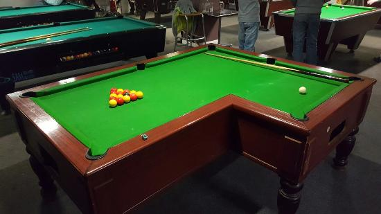 We Have Full Size Snooker Tables To Choose From Picture Of - How big is a full size pool table