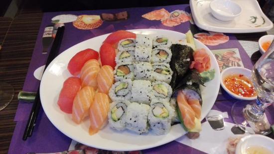 Chilly-Mazarin, Frankreich: Une belle assiette pour deux!