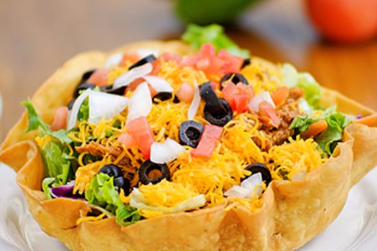 Uncle Kippy's: Don't be shy to order two Taco Salad Bowls because they are that good and you are going to want!
