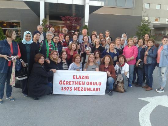 Novotel Kayseri: Öğretmen okulundan mezuniyetimizin 41.yılını kutlamak için Kayseri NOVOTEL'i tercih etttik,harik
