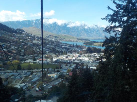 Queenstown, Nueva Zelanda: on gondola
