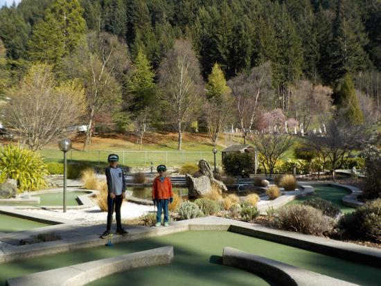 Queenstown, Nueva Zelanda: Mini golf