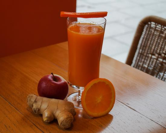 Per Tutti Glasscafe : Fresh juice