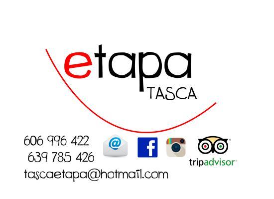 Etapa Tasca: Tarjeta de visita