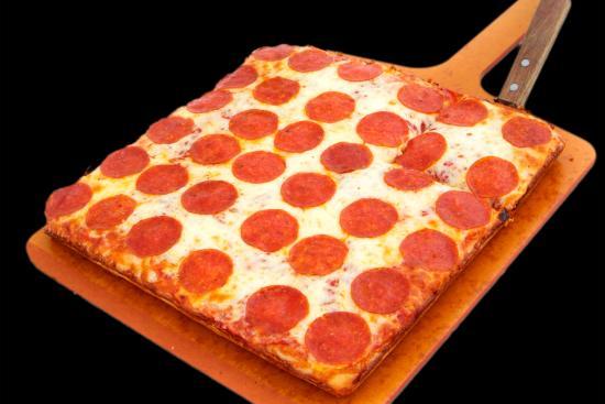 B.C. Pizza: Square Deep Dish