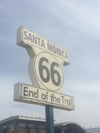 Santa Monica Visitor Center: End of the trail
