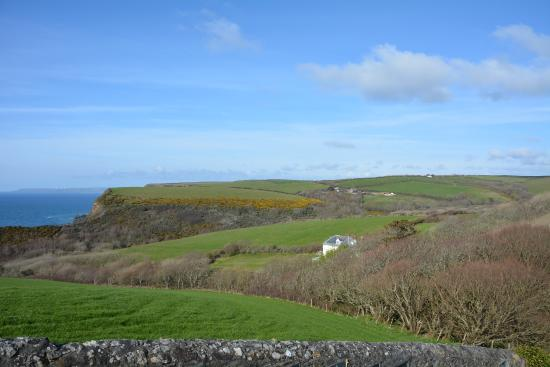 Cleave Farm Holiday Cottages: Just up the Hill, 2 minutes for the Cottage