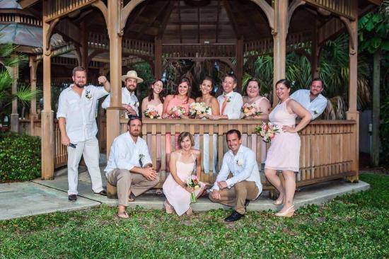 Hilton Melbourne Beach Oceanfront: Wedding Party Thanks Carl!