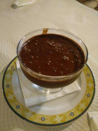 Alcanena, Portugal: Mousse de Chocolate, caseira e muito saborosa!