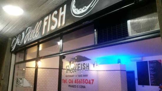 Infernetto, Italia: Hell Fish
