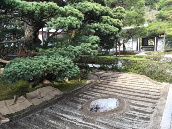 Giardino Zen Foto Di Padiglione Dargento Ginkaku Ji Kyoto