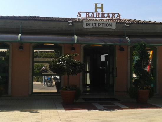Albergo Santa Barbara: Reception