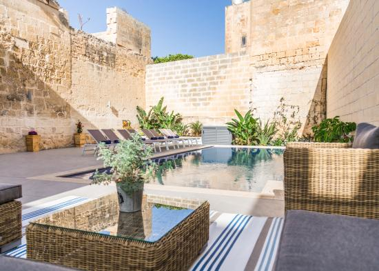 Haz-Zebbug, Malta: By The Pool