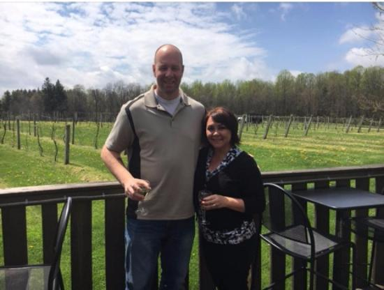 Cuyahoga Falls, OH: My wife and I enjoying the new