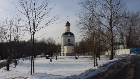 Temple and Chapel of St. Seraphim of Sarov on Pokrovskiy Cemetery