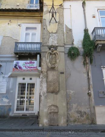 Stemma Marmoreo, Palazzo Messore (Marcianise)