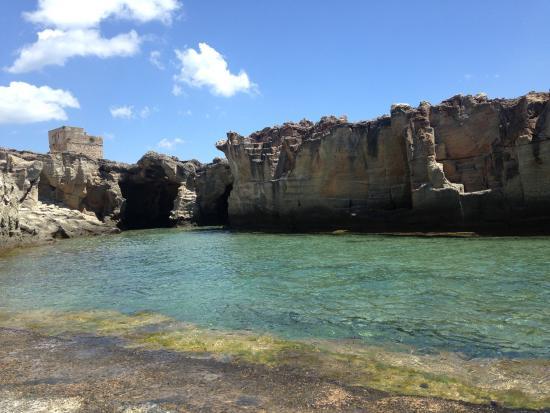 Foto di piscina naturale di marina serra - Piscina naturale ...