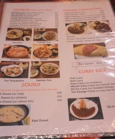 Menu 06 - Picture Of Ippon Yari Ramen House, Dasmarinas City