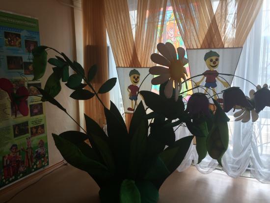 Bratsk, Rússia: Фойе и сцена